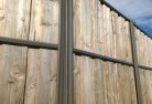 Lap and Cap Timber Fencing